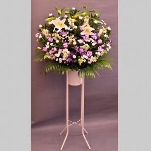 大田区大森花屋大花園のご葬儀お供えスタンド花お届けサービス