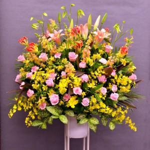 大田区大森花屋大花園の御祝スタンド花お届けサービス
