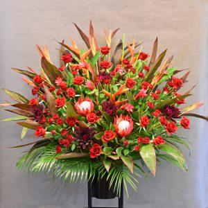 大田区 大森 山王 花 女の子の誕生日に贈るスタンド花