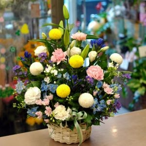 大田区大森山王へお供えの花をお届けいたします。