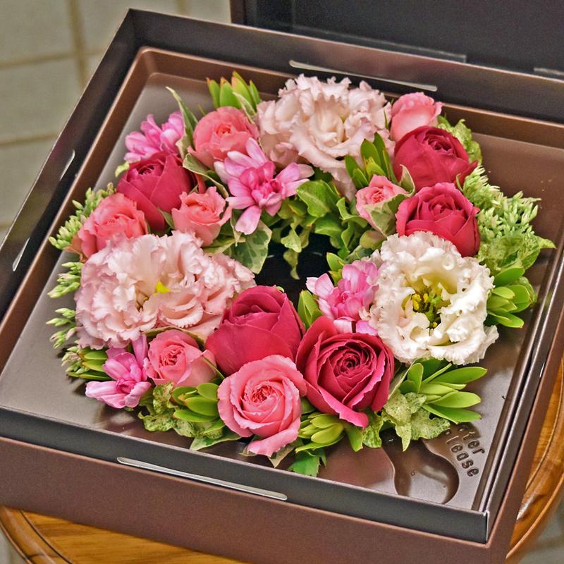 東京都大田区山王 大森の花屋 大花園(だいかえん)季節の旬な花をあなただけの贈り物に!上質でモダンな花贈りを大森スタイルでボックスフラワーをお届けします。