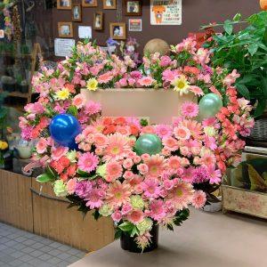 東京都大田区山王 大森の花屋 大花園(だいかえん)季節の旬な花をあなただけの贈り物に!上質でモダンな花贈りを大森スタイルでお届けします。ハート型スタンド花