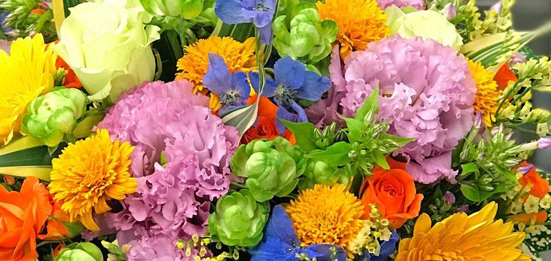 大森で花の定期配達